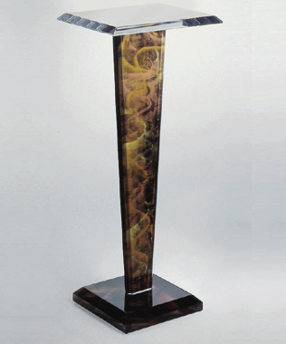 , 'Jerusalem Pedestal (price is for both pieces) (companion to Jerusalem Crescent) (The sale of this piece benefits the nonprofit Zenith Community Arts Foundation),' , Zenith Gallery