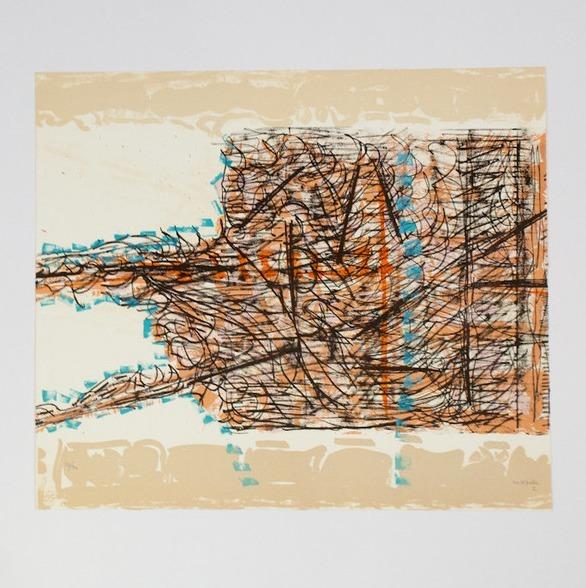Jean-Paul Riopelle, 'Le Sablier 2', 1979, Print, Lithograph, Caviar20