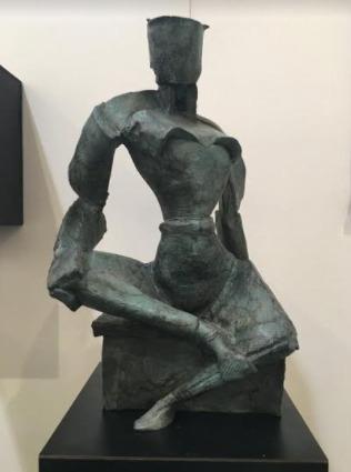 Patrick Bermingham, 'Royal Ease', 2007, Sculpture, Bronze, Saphira & Ventura Gallery