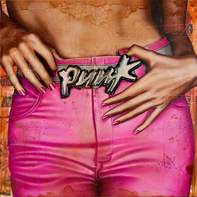 , 'Pink Punk,' 2017, Ace Type