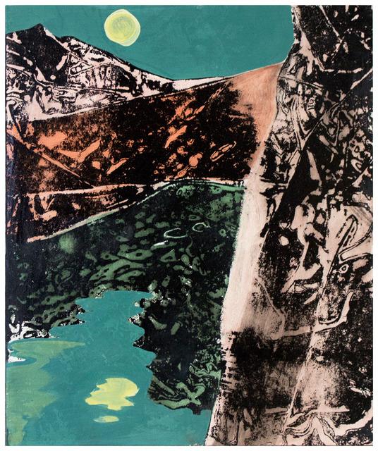 , 'untitled (Alpenpanorama II),' 2016, galerie burster