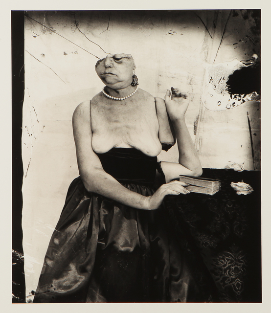 Joel-Peter Witkin, 'Interupted Reading', 1999, Max Lust Gallery