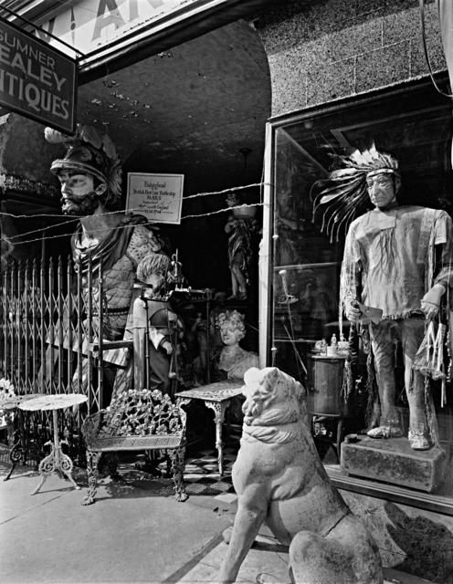 Berenice Abbott, 'Sumner Healey Antique Shop, 942 Third Avenue and 57th Street, Manhattan', 1937, Holden Luntz Gallery