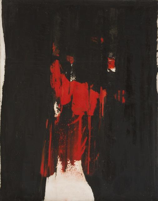Judith Reigl, 'Ecriture en masse', 1959, Galerie Le Minotaure