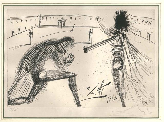 Salvador Dalí, 'El Padre Perdonado', 1975, Wallector