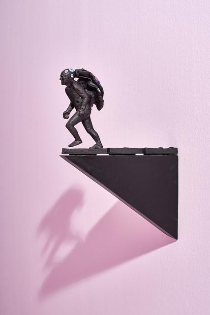 Clive van den Berg, 'Man flees the spectacle', 2016, Goodman Gallery
