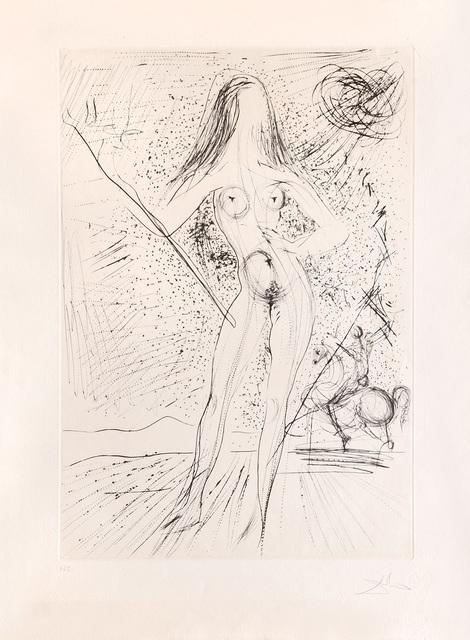 Salvador Dalí, 'Venus de las constellaciones con picador. (Venus of the Constellations with Bullfighter.)', 1975, Peter Harrington Gallery