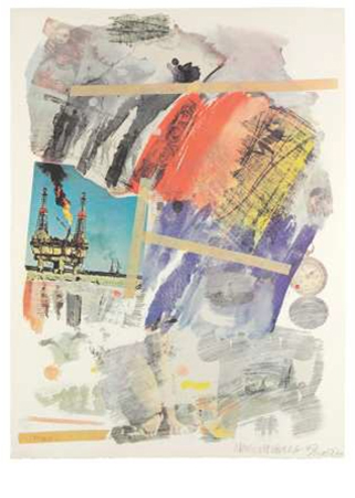 Robert Rauschenberg, 'Untitled', 1972, Mixed Media, LaMantia Fine Art Inc.