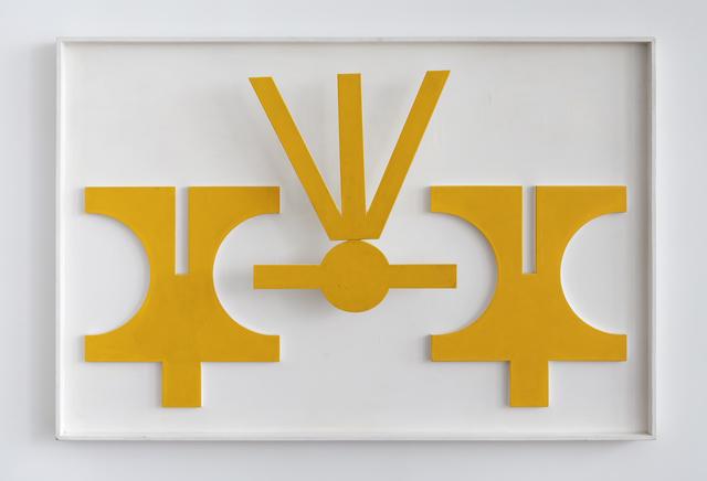 , 'Relevo - Emblema 5,' 1977, Mendes Wood DM