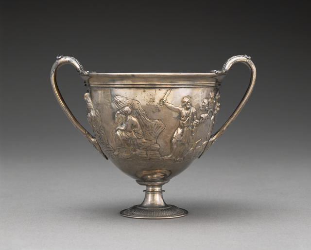 'Two-handled Cup with Relief Decoration',  1st century, J. Paul Getty Museum