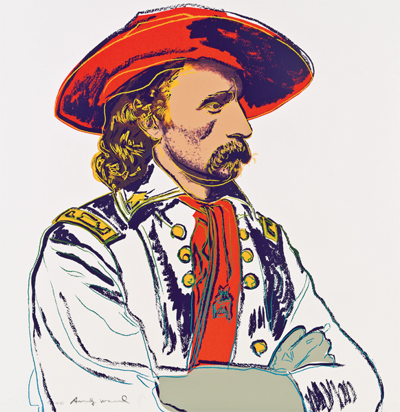 Andy Warhol, 'C & I: General Custer, II.379', 1986, Hamilton-Selway Fine Art
