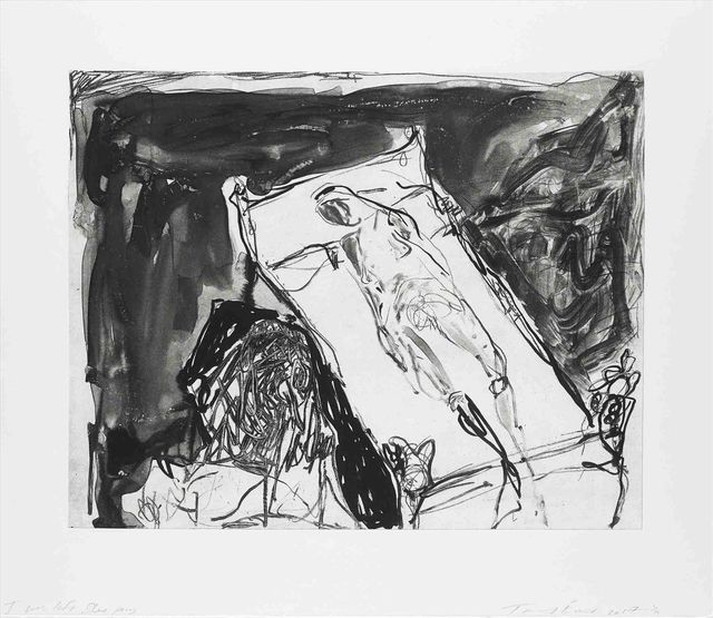 Tracey Emin, 'I Was Left Sleeping', 2017, Print, Lithograph on Somerset 300gsm paper, Lougher Contemporary