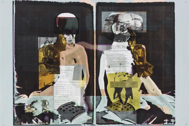 , 'L'âme ne peut rien d'elle- même (Chap.34),' 2014, Zeno X Gallery