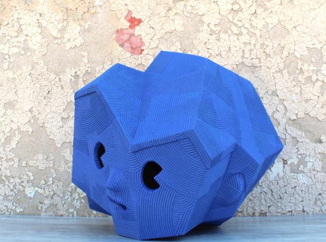 , 'NEO-JOMON: BLUE FACE,' 2019, Stems Gallery