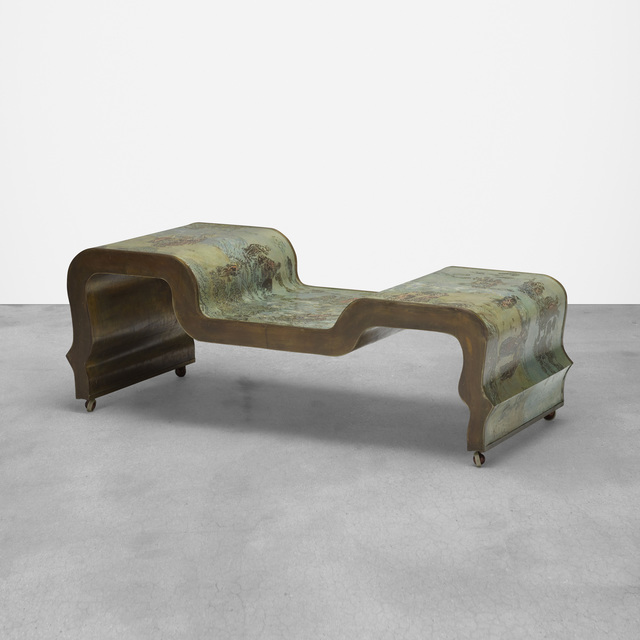 Philip and Kelvin LaVerne, 'Rare Chi Liang coffee table', c. 1965, Wright