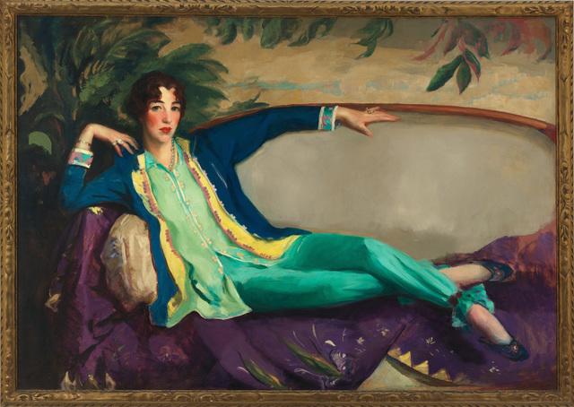 , 'Gertrude Vanderbilt Whitney,' 1916, Whitney Museum of American Art