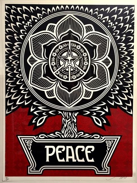 Shepard Fairey (OBEY), 'Peace Tree', 2007, Gregg Shienbaum Fine Art