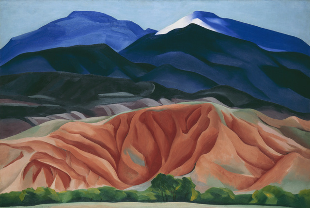 , 'Black Mesa Landscape, New Mexico / Out Back of Marie's II,' 1930, Tate Modern