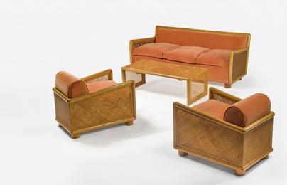 Jean Royère, 'A Four-Piece Suite,' circa 1950, Sotheby's: Important Design