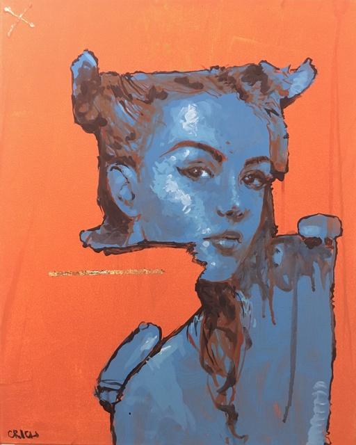 , 'Block Portrait,' 2016, Deep Space Gallery