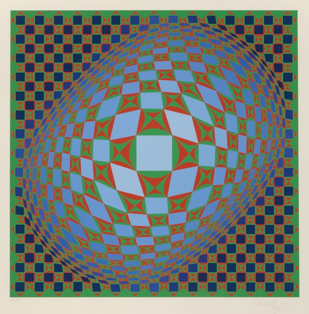 Victor Vasarely, 'Vilag', 1978, Heritage Auctions