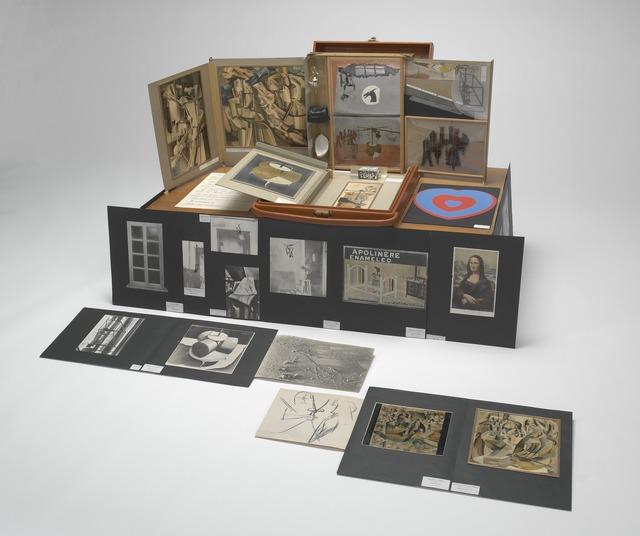 Marcel Duchamp, 'Boîte-en-valise (Box in a Valise),' 1948, Yale University Art Gallery