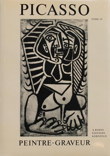 Pablo Picasso, 'Picasso Peintre-Graveur. Tome IV. Catalogue raisonné de l'oeuvre gravé et lithographié et des monotypes. 1946-1958.', 1988, MOCA