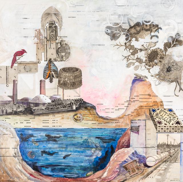 , 'Mountain, Cardinal,' 2018, John Martin Gallery