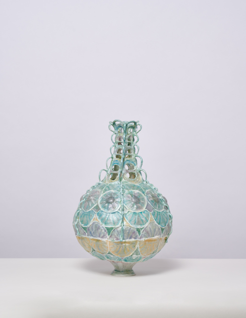 , 'Round Vessel with Rosettes,' 2019, Jason Jacques Gallery
