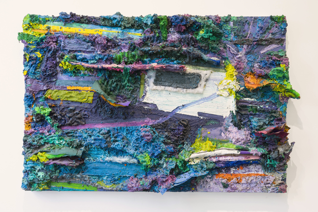 Nuno Ramos, 'O Que Eu Vejo e o Beco', 2017, Painting, Ecaustic and oil on wood., Kogan Amaro