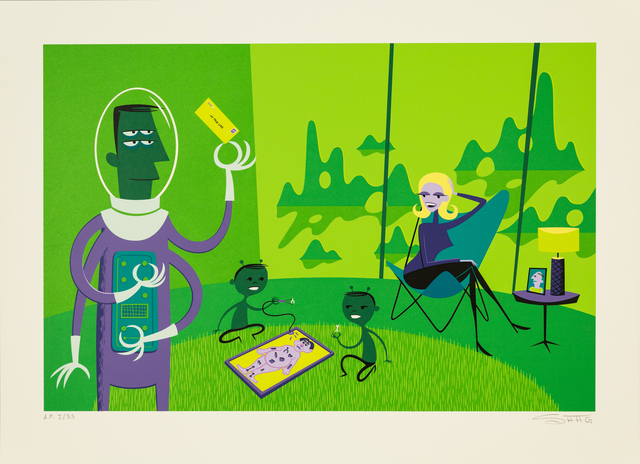 Josh Agle (Shag), 'Effects of Space Radiation', 2002, Track 16 Gallery