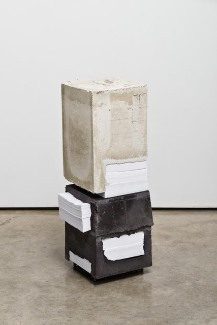 , 'White Lies 9,' 2017, Lora Reynolds Gallery