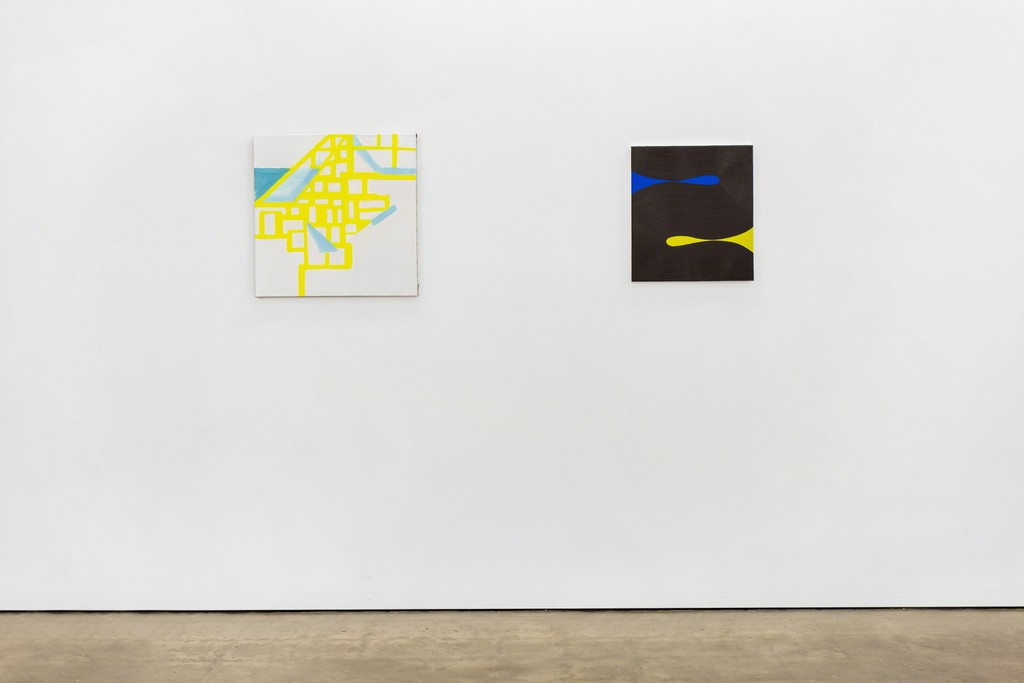 Paul Pagk,Untitled, 2015 and Osamu Kobayashi, Two, 2016.