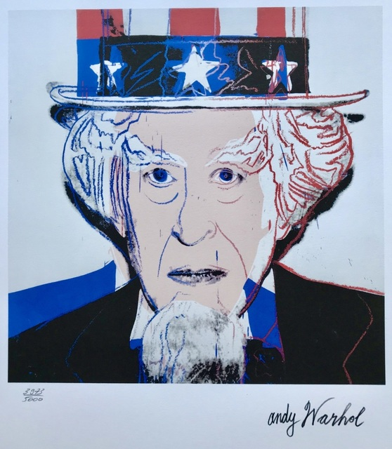 Andy Warhol, 'Uncle Sam', 1986, ByNewArt