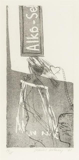 David Hockney, 'Alka Seltzer (M.C.A. Tokyo 6)', 1961, Forum Auctions