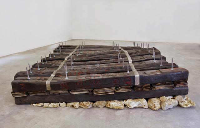 Chen Zhen, 'Le Chemin / Le Radeau de l'écriture', 1991, GALLERIA CONTINUA