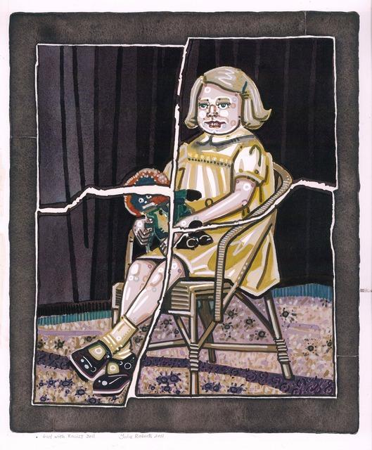 , 'Girl with Rascist Doll,' 2011, Andréhn-Schiptjenko