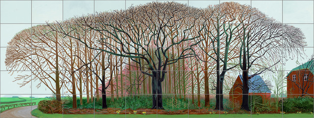 , 'Bigger trees near Warter or/ou Peinture sur le motif pour le nouvel age post-photographique,' 2007, National Gallery of Victoria