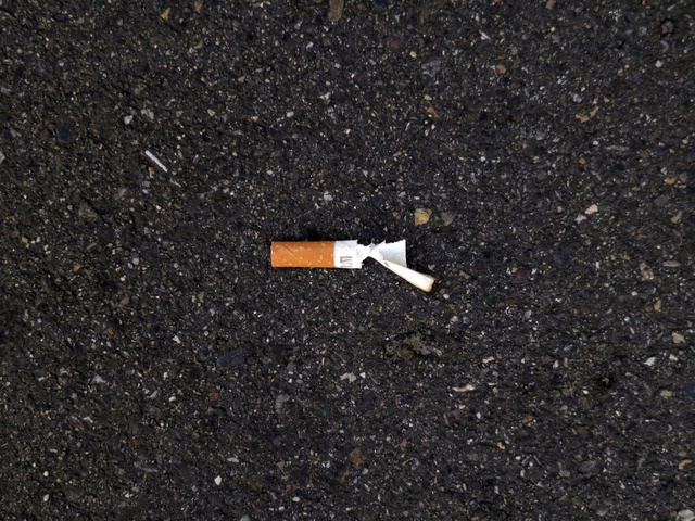 , 'Cigarettes,' 2016, White Cube