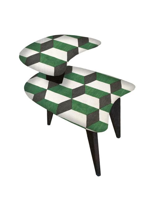Unknown, 'Pair of  Vintage 3 Legged  Side Tables', ca. 1950, The Art Design Project