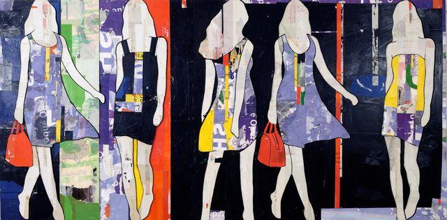 , 'Striped Walking Girls,' , Joanne Artman Gallery