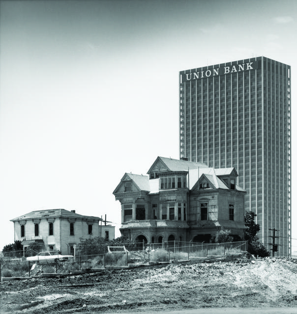 , 'The Castle, 325 S. Bunker Hill Avenue, Los Angeles, California, (Demolished 1969),' ca. 1968, Princeton University Art Museum