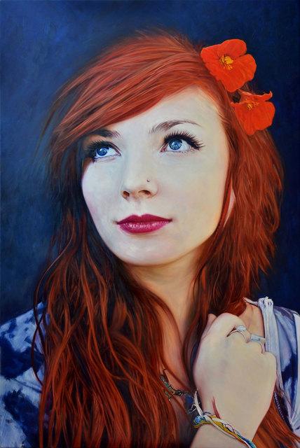 , 'Girl with Flowers in her Hair,' 2015, Albemarle Gallery | Pontone Gallery