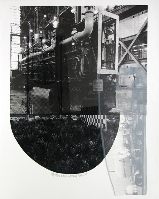 Robert Rauschenberg, 'Tracks, from Stoned Moon', 1970, Gregg Shienbaum Fine Art