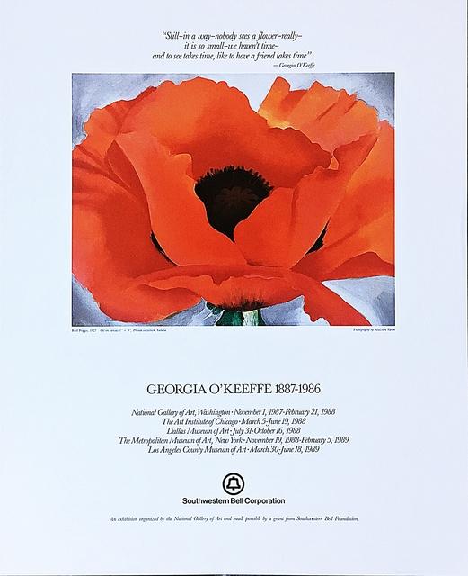 Georgia O'Keeffe, 'Georgia O'Keeffe 1887 - 1986 with Friendship Quote', 1987, Alpha 137 Gallery