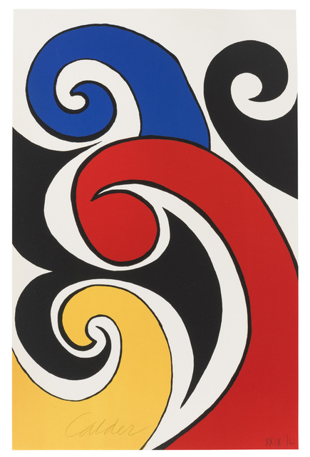 Alexander Calder, 'Les Vagues', c.1970, John Moran Auctioneers