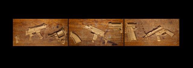 , ''American Graffiti (Part I)' ,' 2014, StolenSpace Gallery