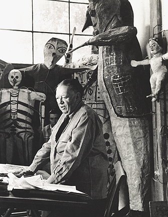, 'Diego Rivera,' ca. 1923, Galería OMR