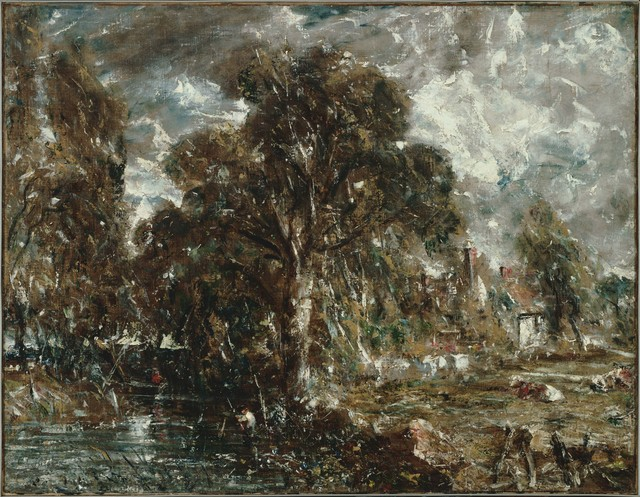 John Constable, 'On the River Stour', ca. 1834-37, Phillips Collection
