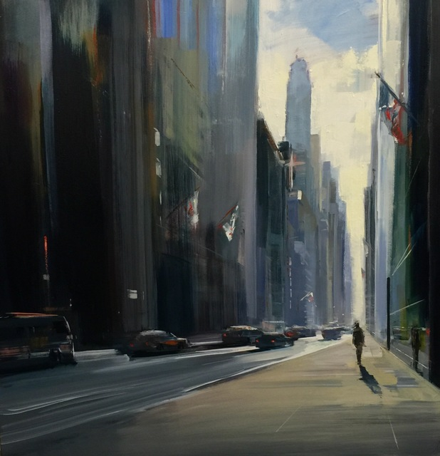 , 'City Solitude,' 2016, Sue Greenwood Fine Art